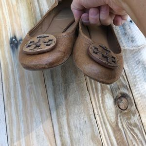 Tory Burch Shoes - Tory Burch | brown leather flats size 7.5